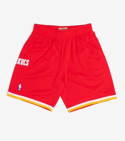 Mitchell And Ness  Swingman Rockets Shorts  Red - SMSHGS18233-ROC | Jimmy Jazz