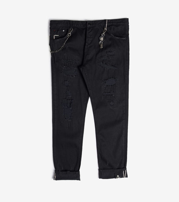 Smugglers Moon  Smugglers Stretch Jeans  Black - SMWB028-BLK | Jimmy Jazz