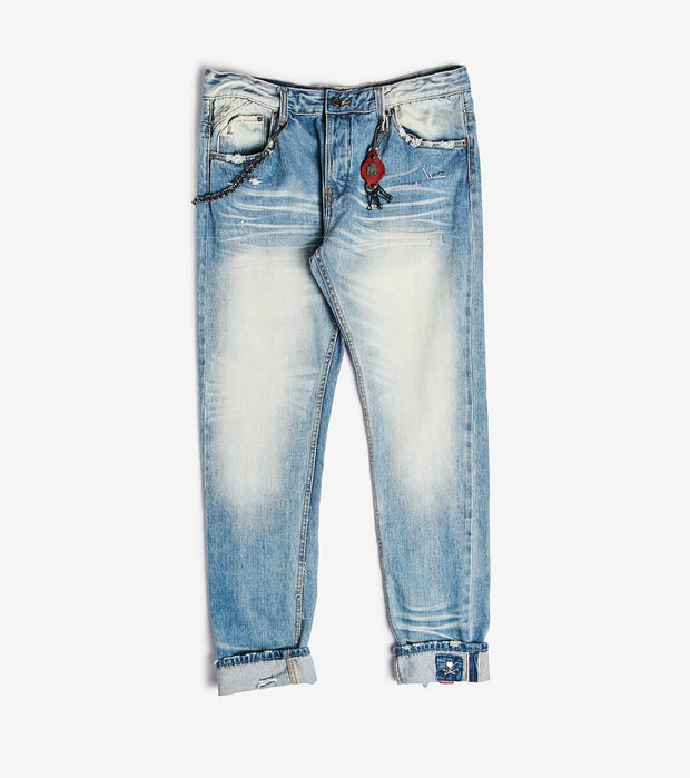 Smugglers Moon  Smugglers Stretch Tint Jeans  Blue - SMWB029-BTN | Jimmy Jazz