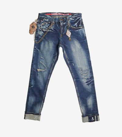 Smugglers Moon  Stretch Jeans  Blue - SMWB5055-HIN | Jimmy Jazz