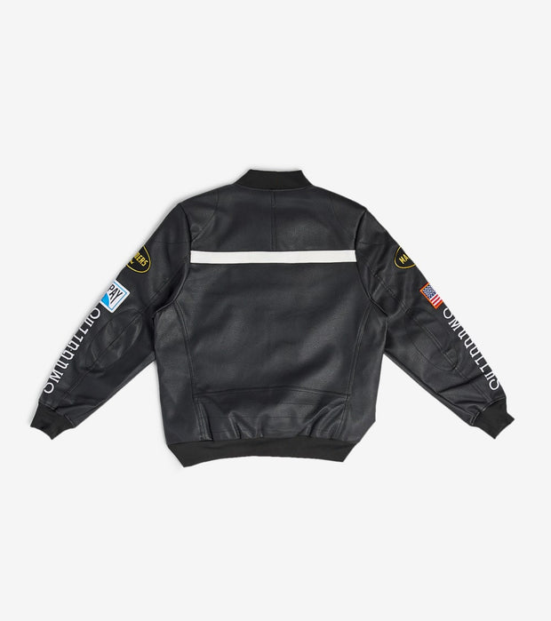 Smugglers Moon  Smuggler Star MotorSport Jacket  Black - SMWJKT002-BBK | Jimmy Jazz