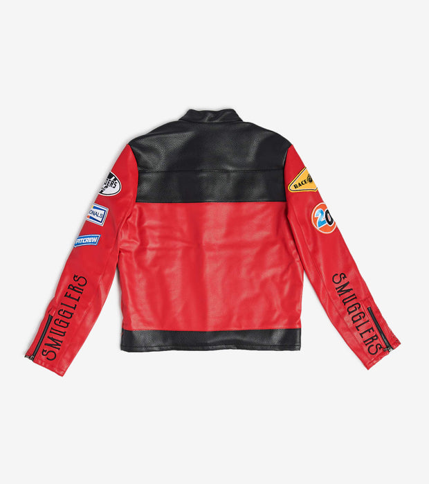 Smugglers Moon  Smuggler Bicker Jacket  Red - SMWJKT003-KRD | Jimmy Jazz