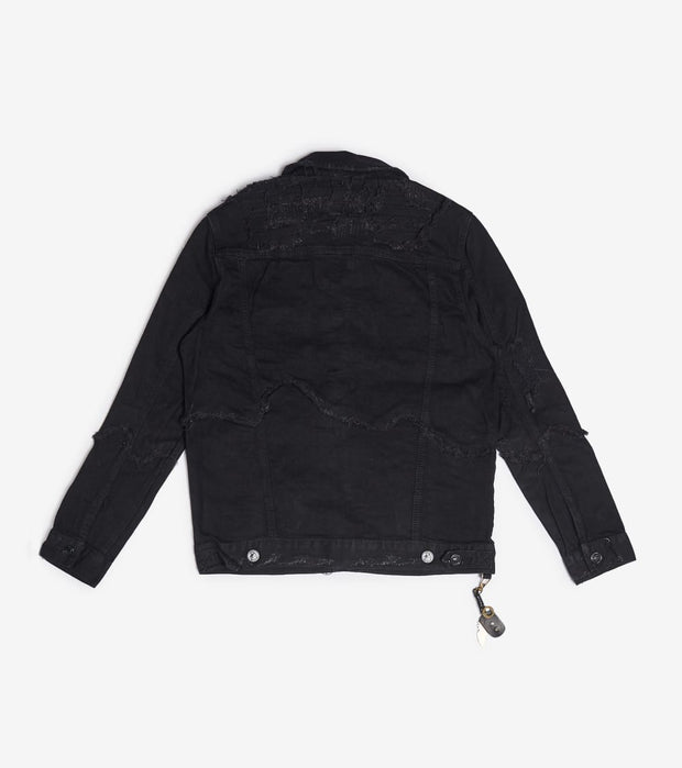 Smugglers Moon  Smuggler Jacket   Black - SMWJKT017-BLK | Jimmy Jazz