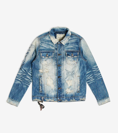 Smugglers Moon  Smugglers Denim Jacket  Blue - SMWJKT019-IND | Jimmy Jazz