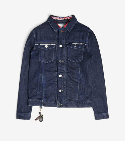 Smugglers Moon  Stretch Smugglers Denim Jacket  Navy - SMWJKT022-RIN | Jimmy Jazz