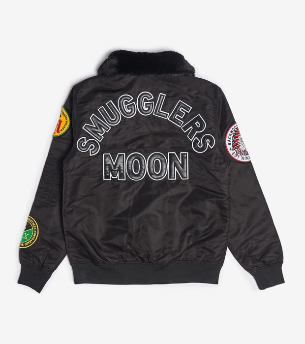 Smugglers Moon  Smugglers Moon Nylon Jacket  Black - SMWJKT025-BLK | Jimmy Jazz