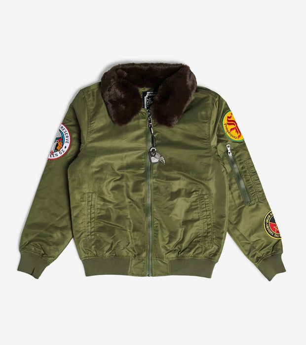 Smugglers Moon  Smugglers Moon Nylon Jacket  Green - SMWJKT025-OLV | Jimmy Jazz