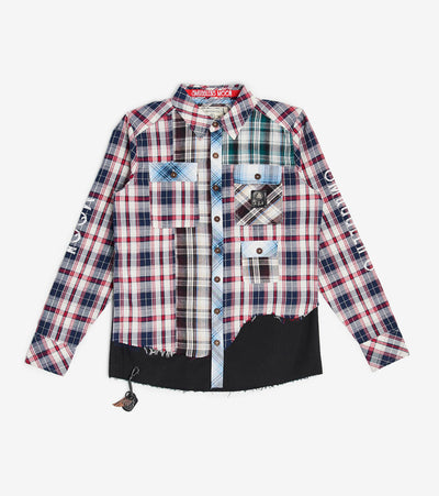 Smugglers Moon  Smuggler Multi Plaid LS Button Down  Multi - SMWT2011-MLT | Aractidf