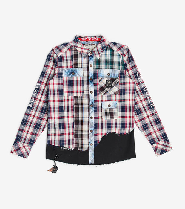Smugglers Moon  Smuggler Multi Plaid LS Button Down  Multi - SMWT2011-MLT | Jimmy Jazz