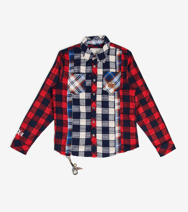 Smugglers Moon  Smuggler Multi Plaid LS Button Down  Multi - SMWT2013-MLT | Aractidf