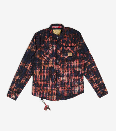 Smugglers Moon  Smuggler Multi Plaid LS Button Down  Black - SMWT2017-BLK | Aractidf