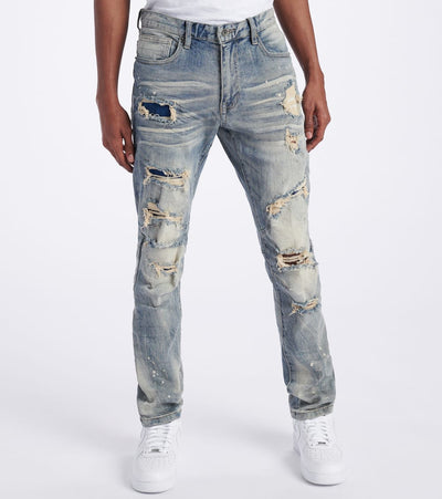 Decibel  Slim Super Stretch Jeans  Blue - SS120223L34-CST | Jimmy Jazz