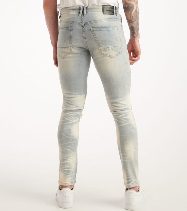 Decibel  Super Stretch Slim Fit Jeans  Blue - SS120227-MBL | Jimmy Jazz