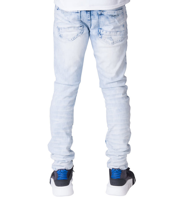 Decibel  Fashion Jeans W Rip n Repair - L32  Blue - SS18140L32-SBL | Jimmy Jazz