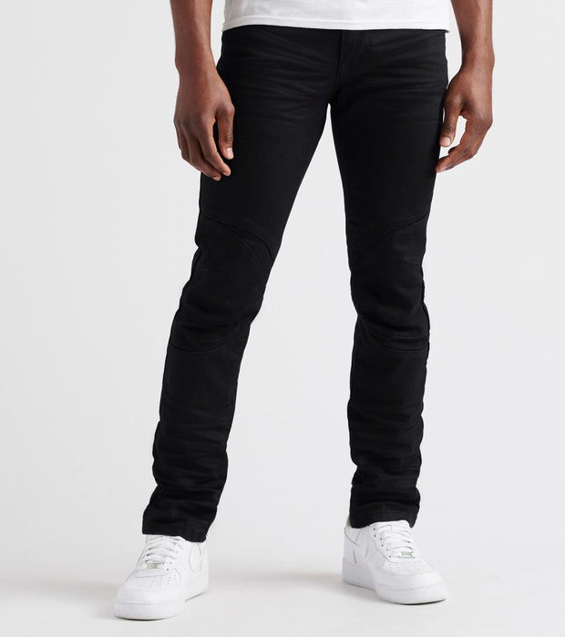 Decibel  Slim Cut & Sew Jeans - L32  Black - SS18941L32-BLK | Jimmy Jazz