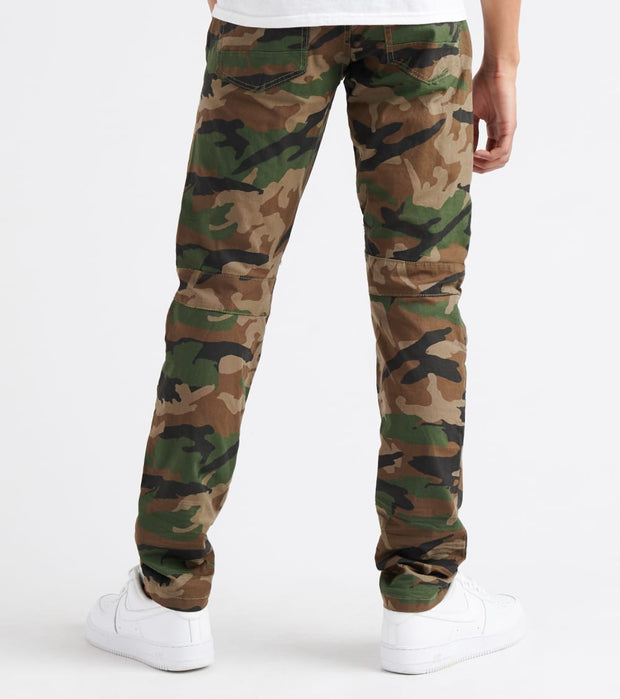 Decibel  Embossed Twill Pants - L32  Camo - SS19117L32-CAM | Jimmy Jazz