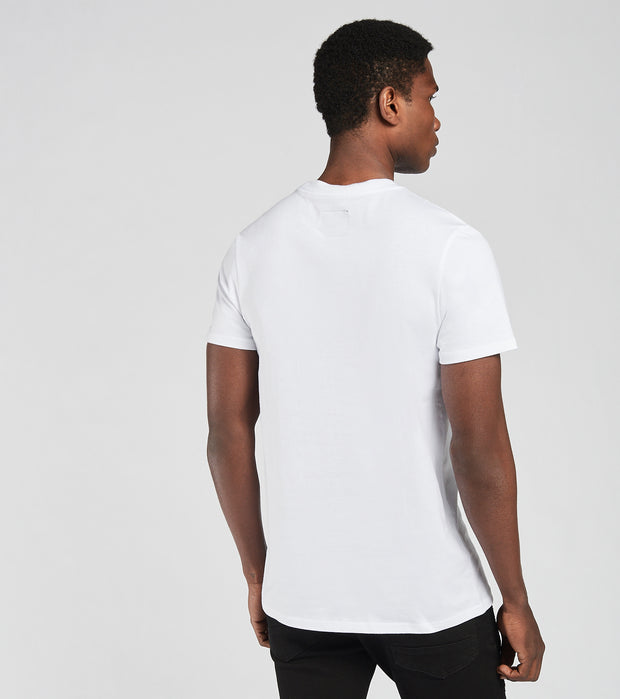 Decibel  Utility Pocket Tee  White - SS20T900-WHT | Jimmy Jazz