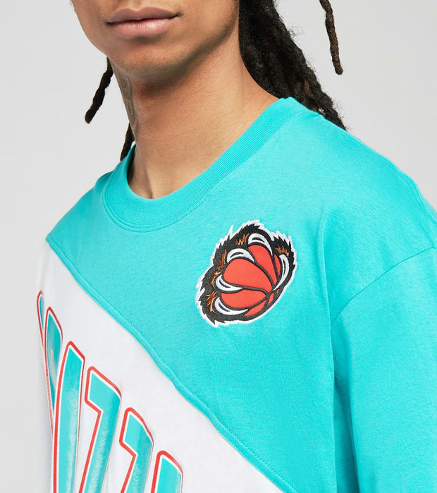 Mitchell And Ness  Vancouver Grizzlies Play by Play Tee  Blue - SSTEMI19038VGR-TLBK | Jimmy Jazz