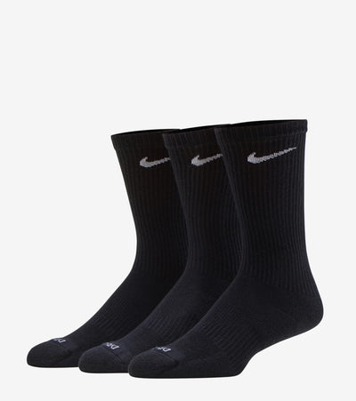 Nike  6-Pack Everyday Cushion Crew Socks  Black - SX6897-010 | Jimmy Jazz
