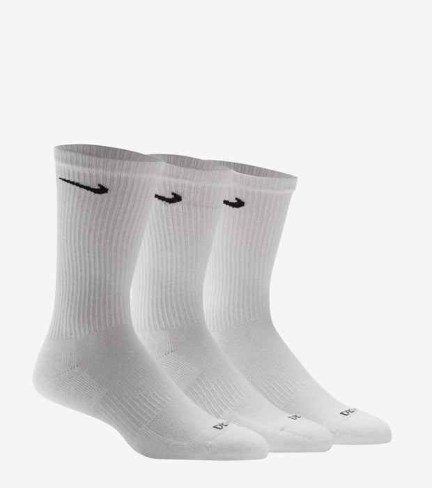 Nike  6-Pack Everyday Cushion Crew Socks  White - SX6897-100 | Jimmy Jazz