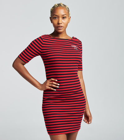 Tommy Hilfiger  Striped Ribbed Dress  Multi - T0DDNAHG-SY2 | Jimmy Jazz