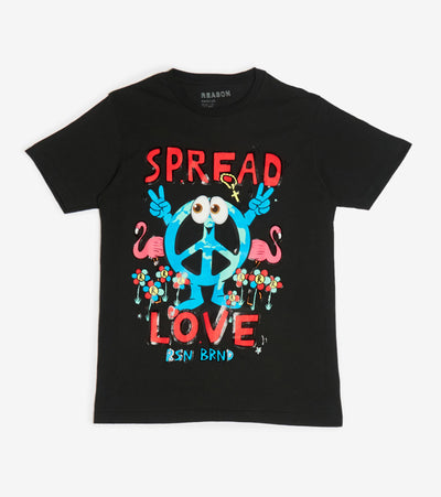 Reason  Spread Love Tee  Black - T180-BLK | Jimmy Jazz