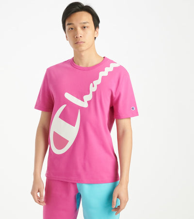 Champion  Heritage Tee  Pink - T1919G550773-1P1 | Jimmy Jazz