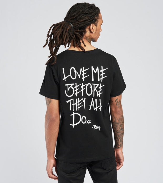 Love Me Before They All Do  Love Me Before They All Do Tee  Black - T2001-BLK | Jimmy Jazz