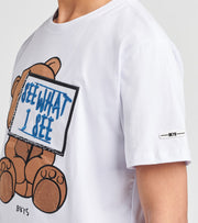 BKYS  See What I See Short Sleeve Tee  White - T205-WHT | Jimmy Jazz