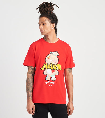 BKYS  Never Alone Short Sleeve Tee  Red - T222-RED | Jimmy Jazz