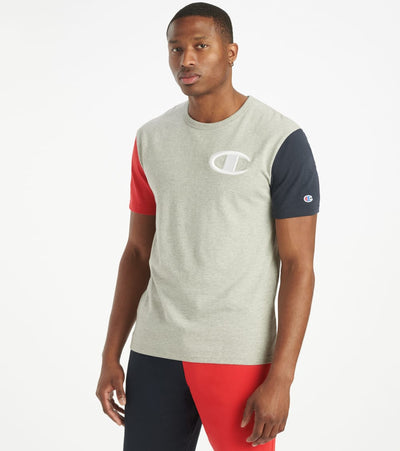 Champion  Heritage Colorblock Tee  Multi - T7041551148-8D | Jimmy Jazz
