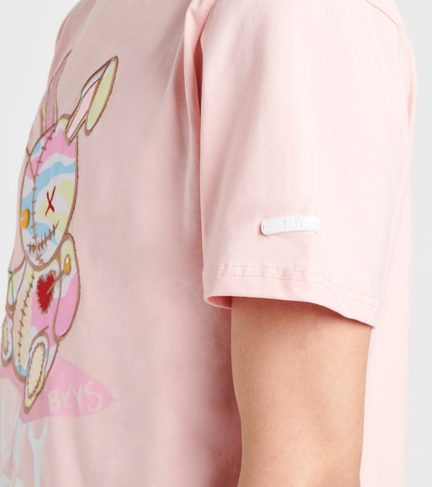 BKYS  Lucky Charm Short Sleeve Tee  Pink - T934-ROS | Jimmy Jazz
