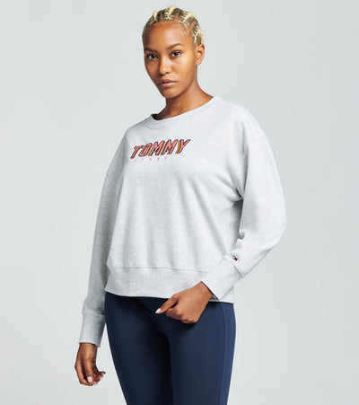 Tommy Hilfiger  Comic Text Sweatshirt  Grey - T93H0ZDC-PL0 | Jimmy Jazz
