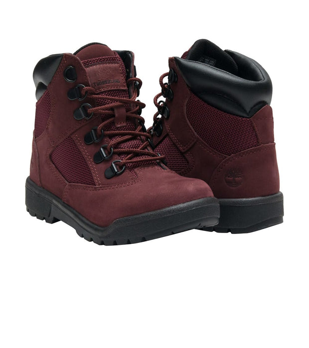 "Timberland  6"" FIELD BOOT  Burgundy - TB0A1ATO639 