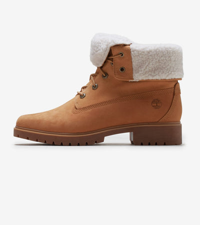 Timberland  Teddy Fleece Fold Down Boot  Beige - TB0A1SGA231 | Jimmy Jazz