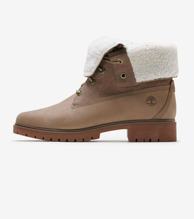 Timberland  Teddy Fleece Fold down Boot  Brown - TB0A1SGB838 | Jimmy Jazz