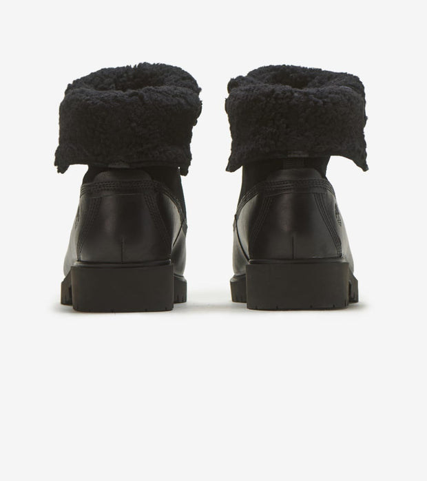 Timberland  Teddy Fleece Fold Down Boot  Black - TB0A1SGK015 | Jimmy Jazz