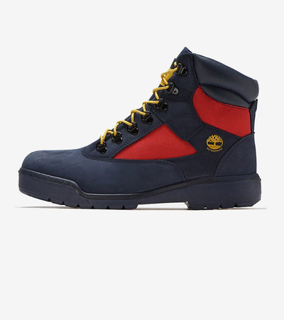 "Timberland  6"" Field Boot  Navy - TB0A1UAN019 
