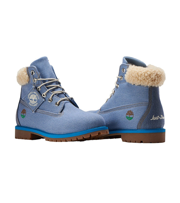 "Timberland  Just Don X 6"" Premium Denim Boot  Blue - TB0A1UXT484 