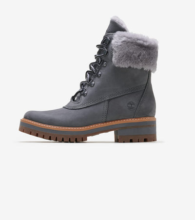 "Timberland  6"" Shearling Boot  Grey - TB0A255AG77 