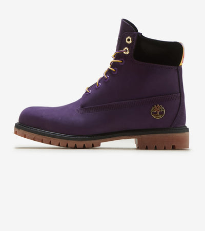 "Timberland  6 Inch Premium Boot ""Lakers""  Purple - TB0A285H527 