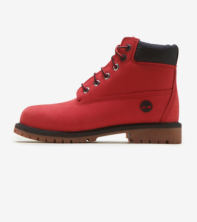 "Timberland  6 Inch PRemium ""Bulls""  Red - TB0A2952P92 