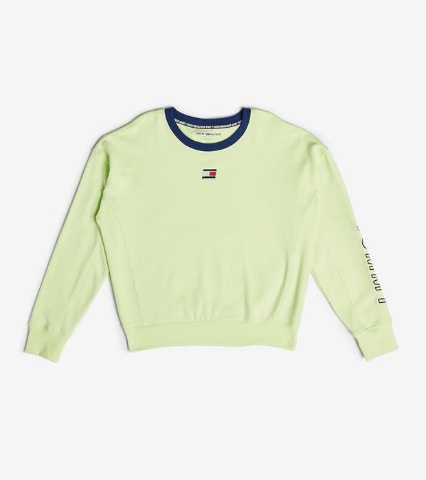 Tommy Hilfiger  Side Panel Tommy Crew Neck Sweatshirt  Yellow - TP03626T-FGH | Jimmy Jazz