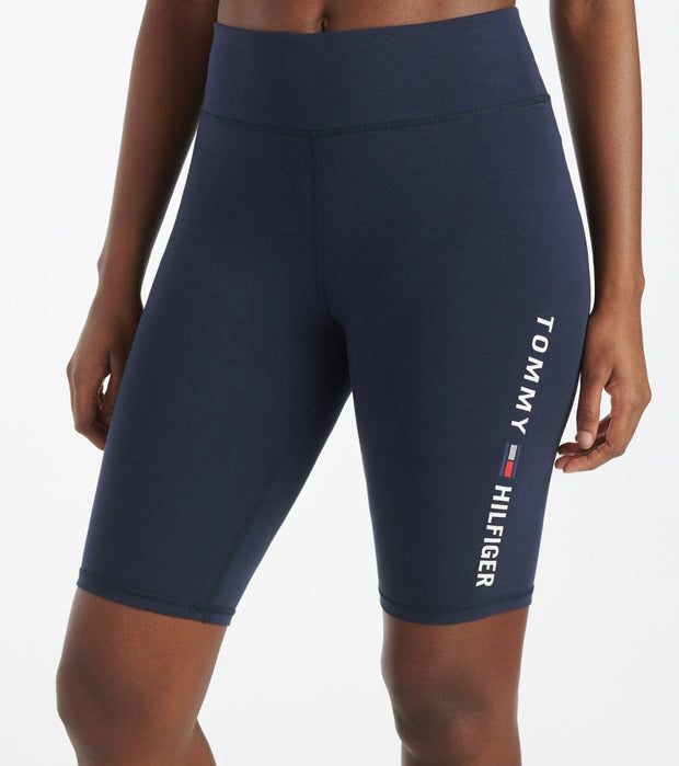 Tommy Hilfiger  High Rise Short Tight  Navy - TP08698S-NVY | Jimmy Jazz