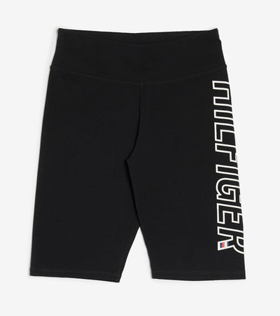 Tommy Hilfiger  Hilfiger High Rise Short Tight  Black - TP08706S-BLK | Jimmy Jazz