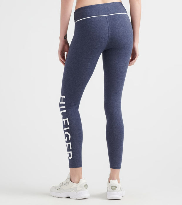 Tommy Hilfiger  Logo Legging  Navy - TP86839P-1MH | Jimmy Jazz