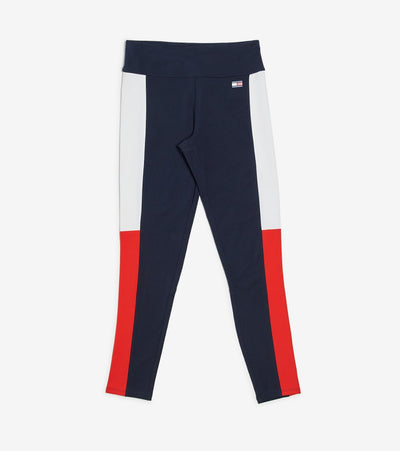 Tommy Hilfiger  Mid Rise Flag Blocked Leggings  Navy - TP96901P-NVY | Jimmy Jazz
