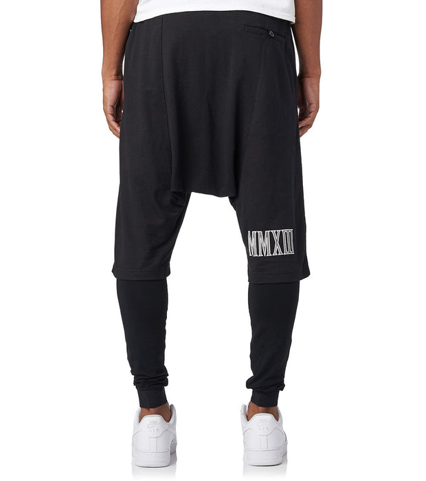 Essentials  Reflect Short Trouser and Leggings  Black - TR11M-BLK | Jimmy Jazz