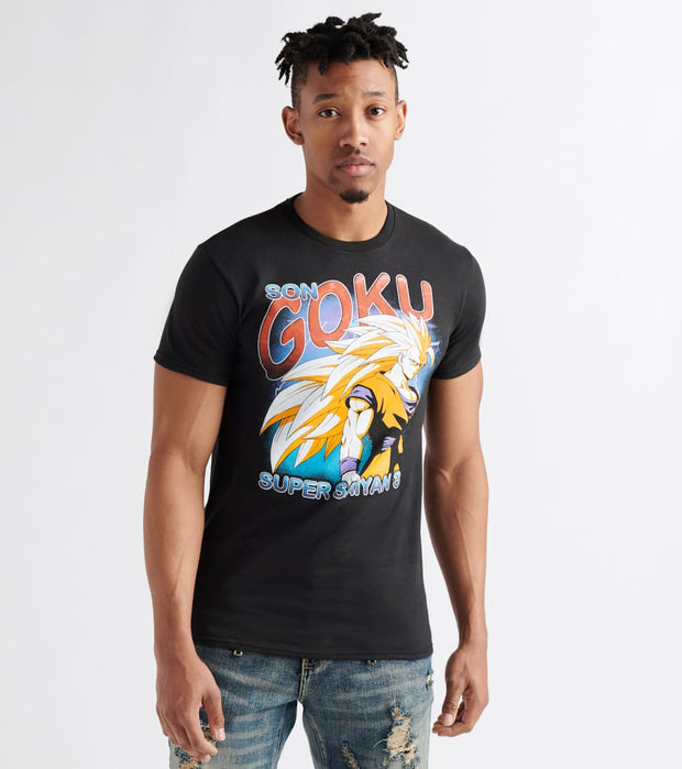 Bio World  Super Saiyan 3 Goku Tee  Black - TS796MDBZ-BLK | Jimmy Jazz