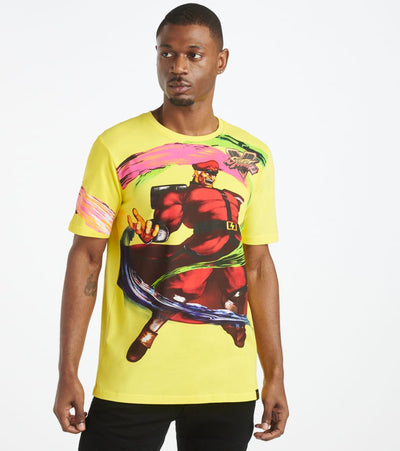 DE.KRYPTIC  Bison Tee  Yellow - TS8PQPSFC-NYL | Jimmy Jazz